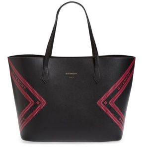 Givenchy Wing Leather Shopper Tote